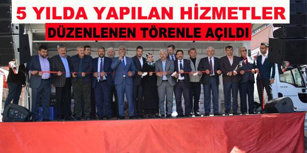 Belediye'den Toplu Açılış Töreni