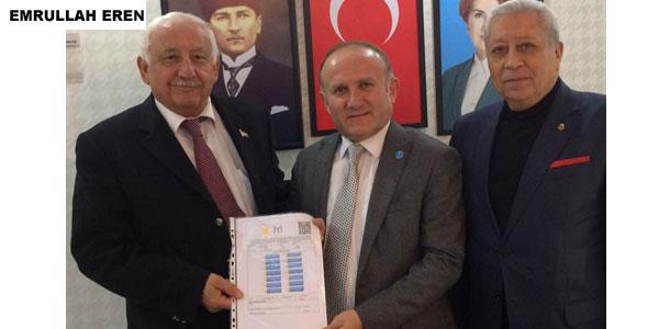 Emrullah Eren Belediye Başkan Aday Adayı oldu