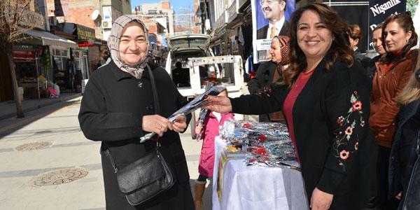 Kahibe Güçlü kadınlar gününü kutladı