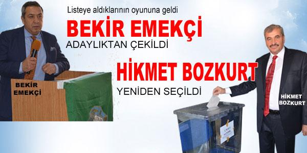 Bozkurt yeniden seçildi
