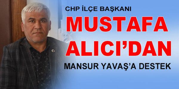 Başkanımız Mansur Yavaş'ın yanındayız!