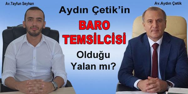 Ankara Barosu'nun yazısı mı gerçek değil?