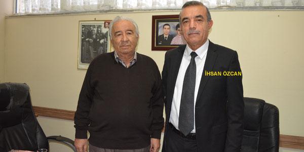 Aday Adayı İhsan Özcan gazetemizi ziyaret etti