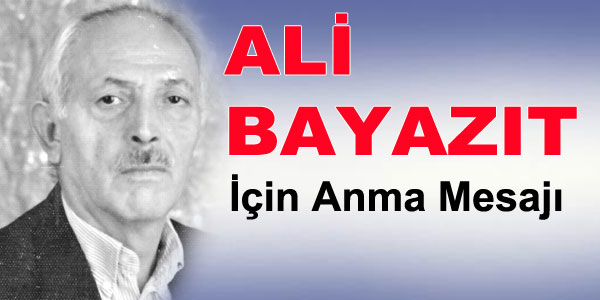 Anma - Ali Bayazıt