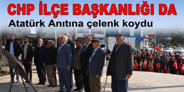 CHP de Cumhuriyet Bayramını kutladı