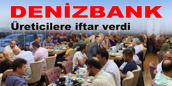 DenizBank'tan iftar