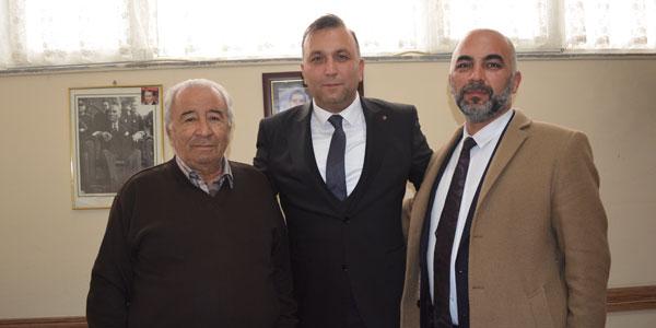 Yavuz Yıldırım gazetemizi ziyaret etti