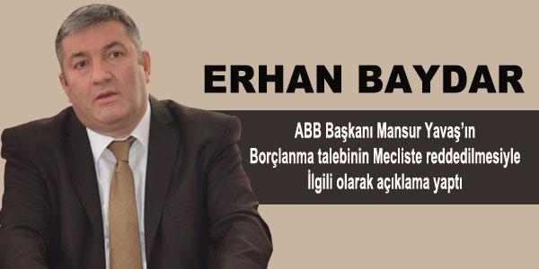 Erhan Baydar'ın ABB meclis üyelerine çağrısı