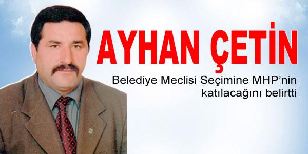 MHP Meclis seçimine girecek