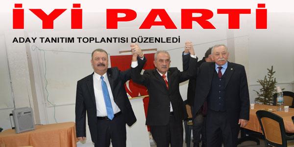 İYİ Parti'nin adayı Ercan Ertürk Alıcıoğlu