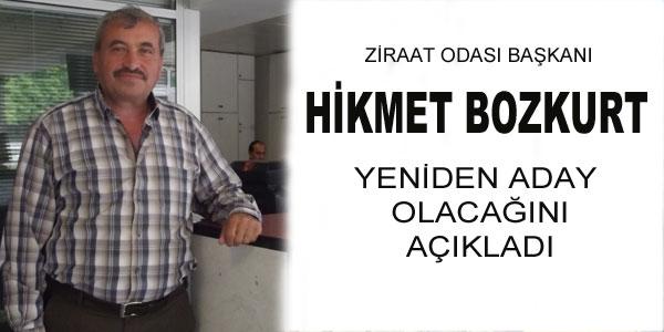Hikmet Bozkurt açıklama yaptı