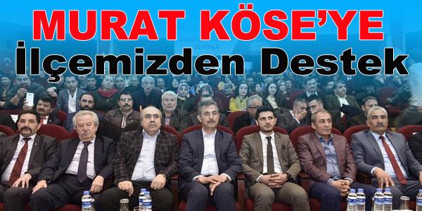 Murat Köse'ye destek ziyareti