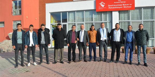MHP'li Aday Adaylarından Engelliler Günü ziyareti