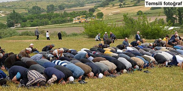Palazobası'nda yağmur duası