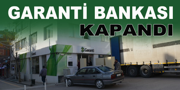 Garanti Bankası Aksaray'a taşındı
