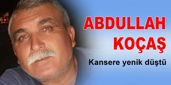Koçaş'ın cenazesi Karandere mezarlığına defnedildi