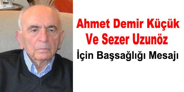 Başsağlığı - Sezer Uzunöz-Ahmet Küçük