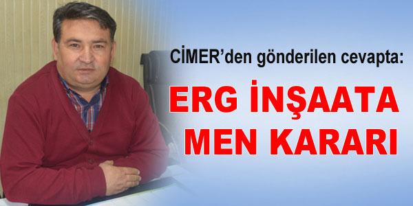 CİMER'e Aşır Özbek başvurmuştu