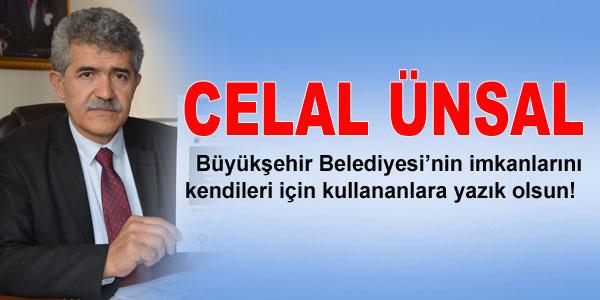 Mahmut Celal Ünsal'ın basın açıklaması