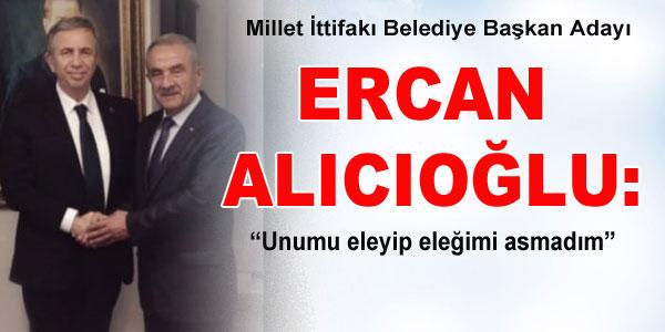 Alıcıoğlu açıklama yaptı