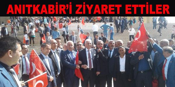 ilçemizden 23 Muhtar Ankara'ya geziye gitti