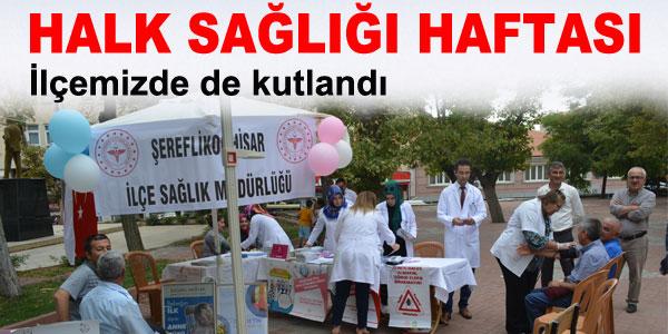 Vatandaşlar sağlık konusunda bilgilendirildi