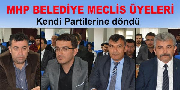Belediye Meclisinde MHP grup kurdu