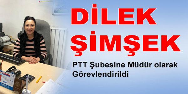Yeni PTT Müdürü göreve başladı