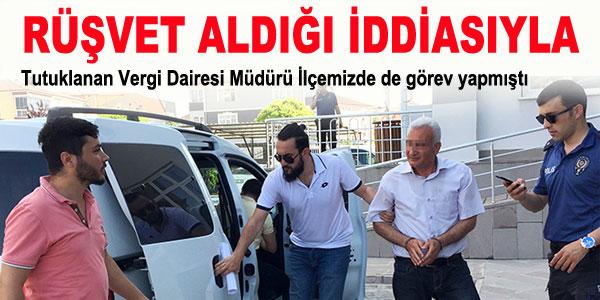 Rüşvet iddiasıyla tutuklandı