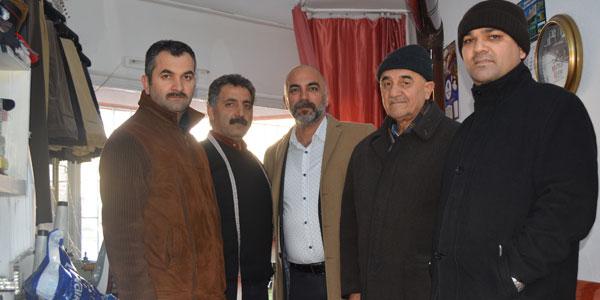 Mustafa Kozan esnaf ziyaretine devam ediyor