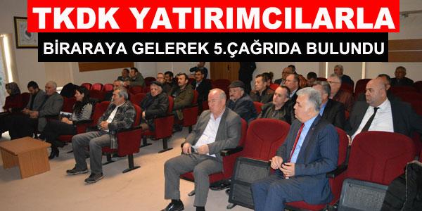 TKDK bilgilendirme toplantısı düzenledi