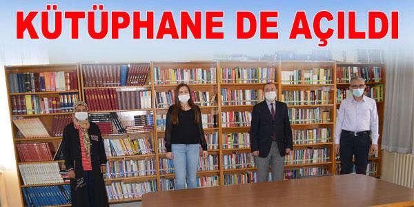 Maskesiz kütüphaneye girilmiyor