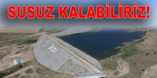 Peçenek Barajından Evren'e de su verilecek