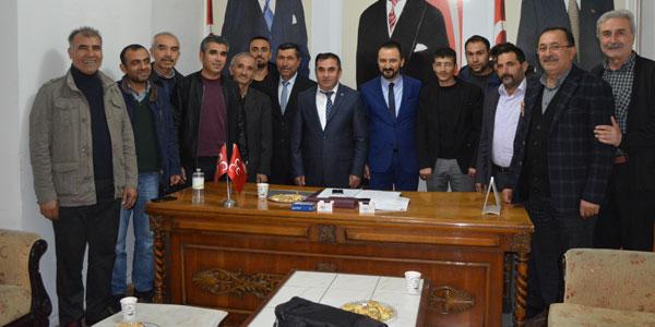 MHP İlçe Başkanlığına Ramazan Duru Atandı