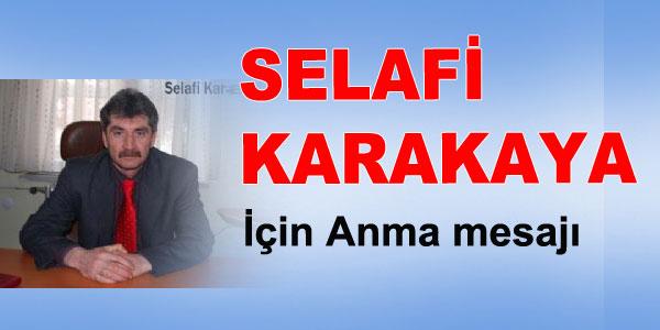 Anma - Selafi Karakaya