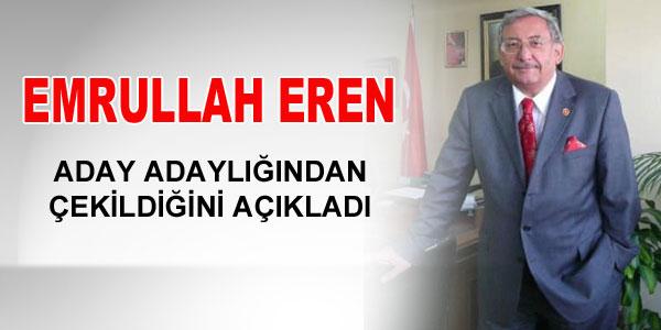 Emrullah Eren açıklama yaptı