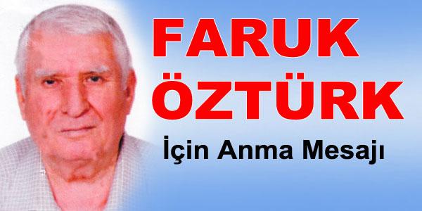 Anma - Faruk Öztürk