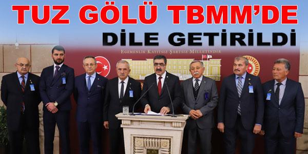 Milletvekili Halil Oral basın toplantısı düzenledi