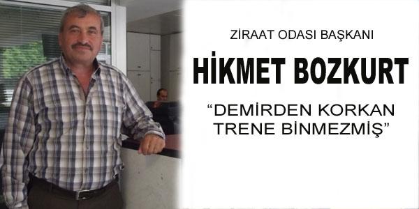 Hikmet Bozkurt iddialara yanıt verdi