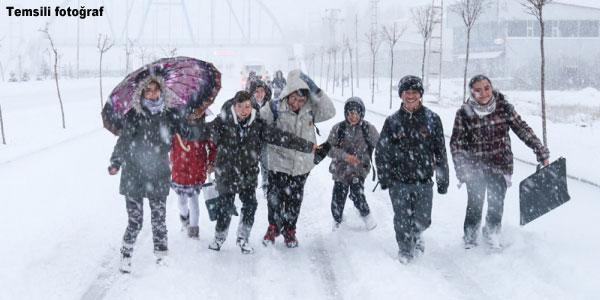 Kar Yağışı ve Tatil Şaşkınlığı