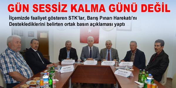 STK'ların basın açıklaması