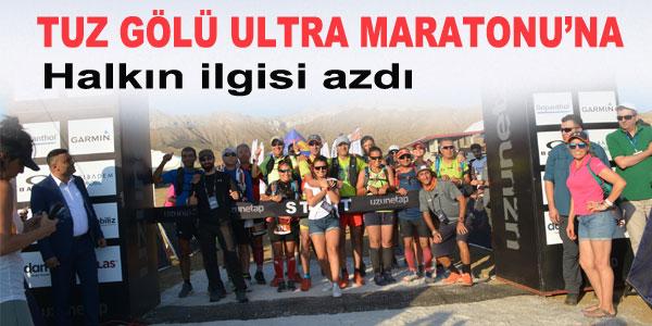 Maratona 1000 kadar sporcu katıldı