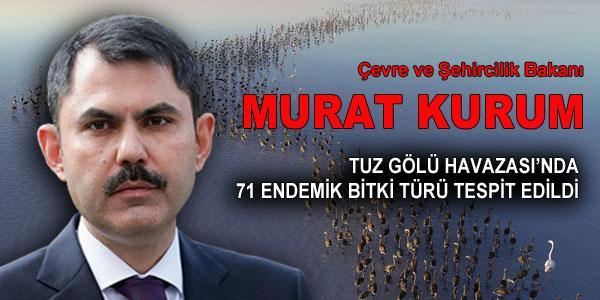 Bakan Murat Kurum'un açıklaması