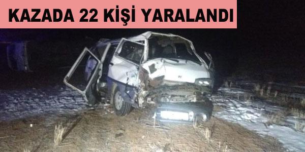 Gaziantepli Sporcular İlçemiz sınırında kaza yaptı