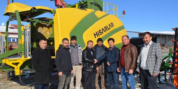 Çiftçiler için slaj makinası
