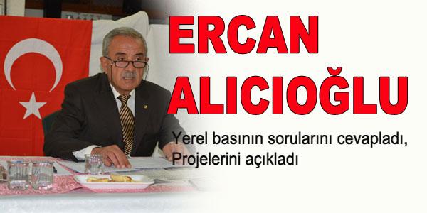 Ercan Alıcıoğlu açıklamalarda bulundu