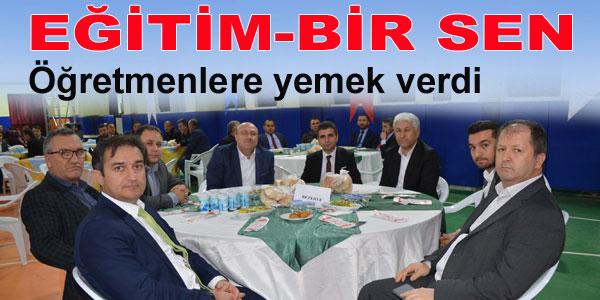 Yemeğe Ankara 1 nolu şube başkanı da katıldı
