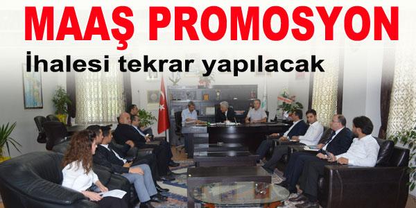 107 personelin maaş promosyon ihalesi