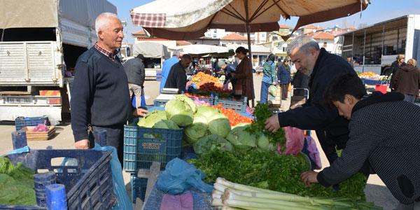 Salı Pazarında fiyatlar değişmiyor