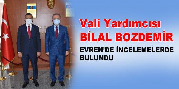 Kaymakam Demirbilek de Bozdemir'e yardımcı oldu